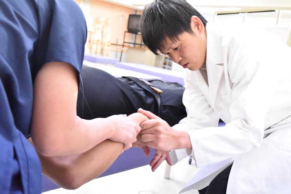 柔道整復師の手技