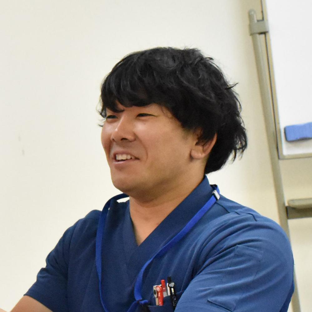 柔道整復師の専門学校講師 楠岡 崇先生