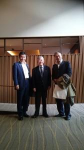 左から小林理事長、井上師範、北出先生