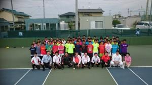 相生学院テニス部訪問