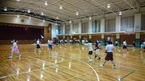 賢明学院バスケット部練習風景