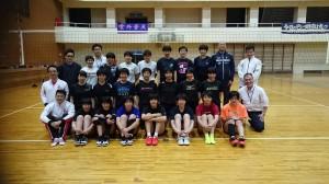 奈良女子高等学校バレーボール部