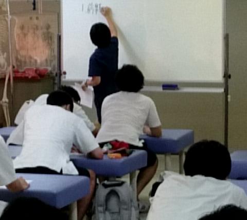影山先生の教育実習の様子②