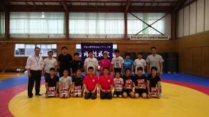京都八幡高校レスリング部